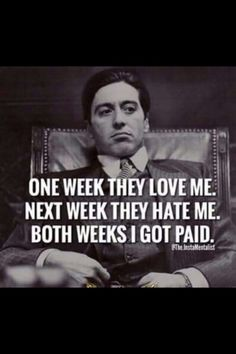 The godfather quotes Boss Quotes, Strong Quotes, True Quotes, Positive Quotes, Motivational Quotes, Funny Quotes, Inspirational Quotes, Real Quotes, Scarface Quotes
