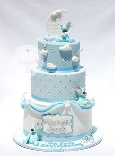 Cute baby boy cake