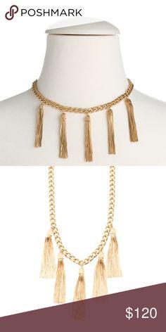 Rachel Zoe fringe necklace Rachel Zoe new with box from 2016 collection Rachel Zoe Jewelry Necklaces