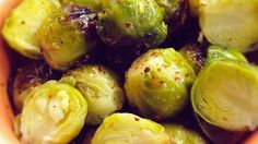 Three ingredients are all you need to prepare marinated Brussels sprouts. Serve as a side dish or salad topper. Marinated Brussel Sprouts Recipe, Bacon Wrapped Brussel Sprouts, Fried Brussel Sprouts, Brussel Sprout Salad, Sprouts With Bacon, Brussels Sprouts, Sprout Recipes, Veggie Recipes, Dishes Recipes