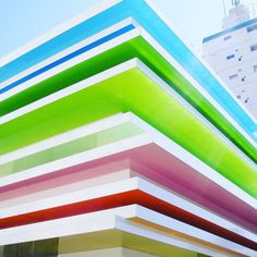 Color Stack - These Colorful Buildings Are SO Inspiring - Photos