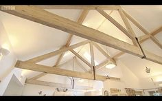 Vaulted ceiling from Escape to the Country