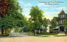Collett Park Neighborhood, Terre Haute, IN