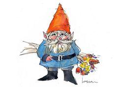 Image result for gnome illustration