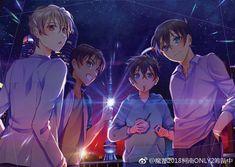 Magic Kaito, Anime Classroom, Heiji Hattori, Ran And Shinichi, Kaito Kuroba, Detektif Conan, Detective Conan Wallpapers, Fangirl, Case Closed