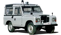 land rover defender 1965 policia española