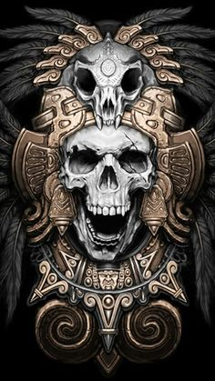 Aztec skull                                                                                                                                                                                 Más