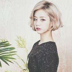 Hyeri hair