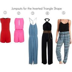 Image result for romper for inverted triangle