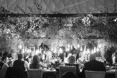 Beautiful hanging lightbulbs cast a warm glow. Perfect Wedding Dress, Dream Wedding Dresses, Designer Wedding Dresses, Bridal Dresses, Wedding Lighting, Event Lighting, Fairytale Weddings, Lightbulbs, Color Crafts