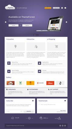Pipilla Landing Page