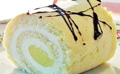 Citromos rolád recept fotóval Something Sweet, Milkshake, Camembert Cheese, Cookie Recipes, Smoothies, Food And Drink, Cupcakes, Sweets, Bread