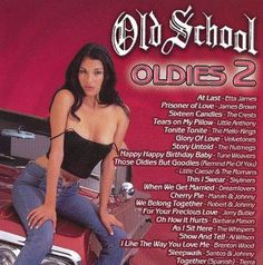 Various Artists; Various Artists - Old School: Oldies 2 (CD) Music Mood, Mood Songs, Upbeat Songs, 80s Songs, Rap Playlist, Throwback Playlist, Party Playlist, Old School Songs, Santo & Johnny