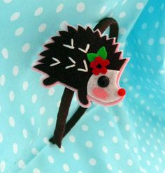 Hedgehog Hair Band! | Em and Sprout
