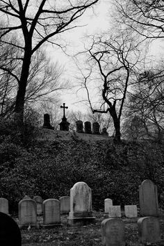 """""""The bodies have amassed here for thousands of years, it's hardly ever quiet as screams scar the ears"""" -from the poem The Ancient Graveyard Cemetery Headstones, Old Cemeteries, Cemetery Art, Graveyards, Spooky Places, Haunted Places, Dark Photography, Dark Places, Monuments"""