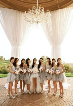 A feature about our favourite fashion trends to help you envision what you would like your bridesmaids to wear at your wedding and look absolutely amazing alongside you in photos! | The Wedding Scoop Spotlight: 8 Bridesmaid Dress Trends We Love