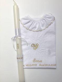 Krstiny / Košieľka na krst K12 bielo-zlatá + sviečka na krst Ted Baker, Tote Bag, Bags, Handbags, Totes, Bag, Tote Bags, Hand Bags