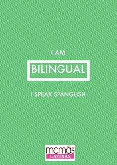 Cheers for bilingualism!