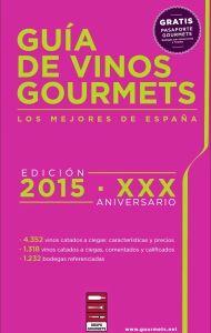 Portada de Guía de #vinos #Gourmets 2015