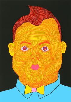 Pushwagner - The boss kunst til salgs i nettgalleriet James Rosenquist, Claes Oldenburg, Jasper Johns, Roy Lichtenstein, Graphic Artwork, Hare Krishna, Buy Art Online, Andy Warhol, Surrealism
