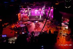 Long view of The Candy Show studio/ set