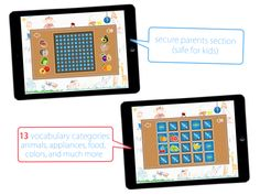 Teach Me Apps: English for Kids | www.teachmeapps.net Vocabulary, Apps, English, Teaching, App, English Language, Learning, England, Education