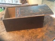 of July Antiques Dough Box, Blanket Box, Candle Box, Primitive Antiques, Christmas Sale, Tool Box, Old Houses, 4th Of July, Bowls