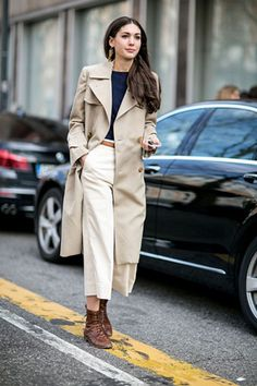 #fall #trench coat #layored