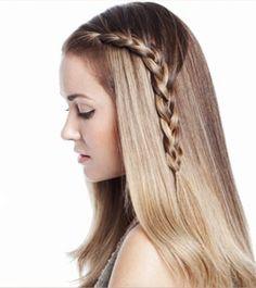 acconciatura capelli lunghi treccia 320 Treccia laterale acconciatura  capelli fai da te Acconciature 2015,