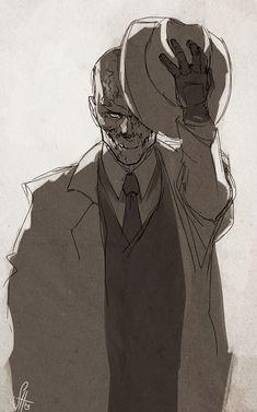 Metal Gear Solid V - Skull Face by arok318