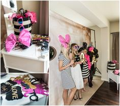 Kate Spade Themed bridal shower rental package from Snohomish Rental Co. Photo Cred: B. Jones Photography Seattle Wedding Photographer