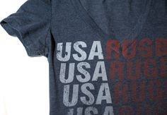 A RA produced USA Rugby T-Shirt.