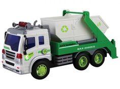 Caminhão de Lixo de Fricção 308S - Shiny Toys com as melhores condições você encontra no Magazine Izackacessorios. Confira!