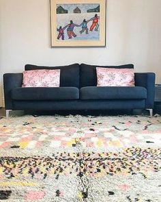 Contemporary Beni m'rirt, 8x10. Little known alternative fact: Gustav Klimt spent the latter part of his career designing rugs. #dsnicerug #ooak #torontointeriordesign