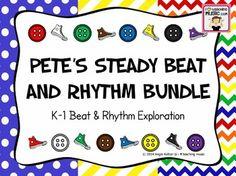 Pete's Steady Beat and Rhythm Bundle - K-1 Beat & Rhythm Exploration