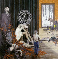 o. T. // Jonas Burgert // 2005 // Painting