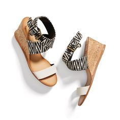 Stitch Fix May Styles: Ankle Strap Wedge Sandals
