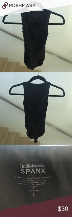 Black Spanx Bodysuit Lots of life left! Great for under other your clothes SPANX Intimates & Sleepwear Shapewear