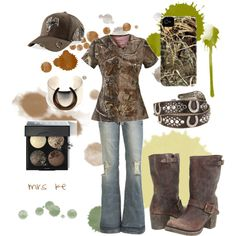 camo, a country girls best friend!  well....maybe the boots come first, lol