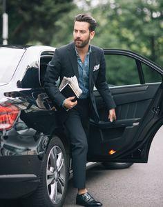 Men's Street Style Inspiration #32 Follow... | MenStyle1- Men's Style Blog