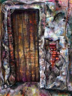 Burr Singer (1912-) - Doorway