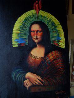 Monã [Clara Piquet on FLICKR] (Gioconda / Mona Lisa)