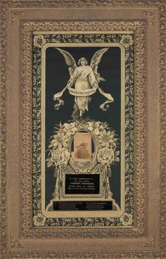 Victorian Memento Mori Lithograph w/original by ecomodista on Etsy, $1550.00
