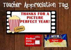 DIY Printable Teacher Appreciation Gift Tags by OurCreativeMess, $5.00