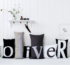 Pillow collection 1 for Oliver Furniture / Nordisk Rum by Pernille Grønkjær Taatø / www.blog.nordiskrum.dk