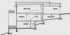 D-457 Duplex house plans, multi family house plans, duplex house plans for sloping lots, D-457
