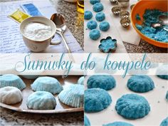 Blueberry Pink: DIY šumivé bomby do koupele