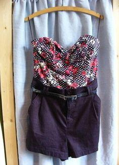Kaufe meinen Artikel bei #Kleiderkreisel http://www.kleiderkreisel.de/damenmode/jumpsuits/137667602-jumpsuit-von-zara-mit-blumchen-tupfen-muster