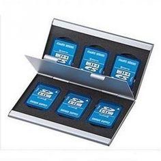 Practical Aluminium Alloy Micro for SD MMC TF Memory Card Storage Box Protecter Case