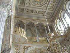 Interior detail, Hermitage Museum....stunning...